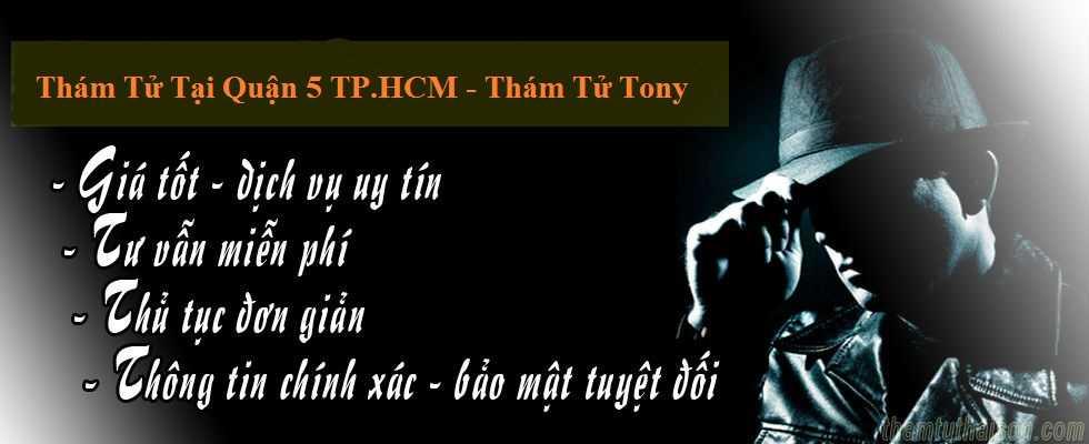 Thông tin liên lạc của công ty thám tử Tony